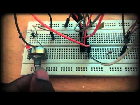 Project || Speed control of dc motor using pwm || Full video Tuturial