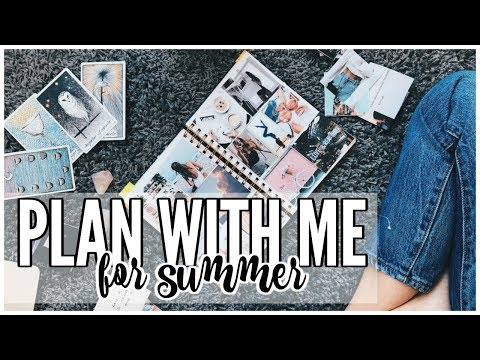 Plan With Me June | SUMMER BUCKETLIST