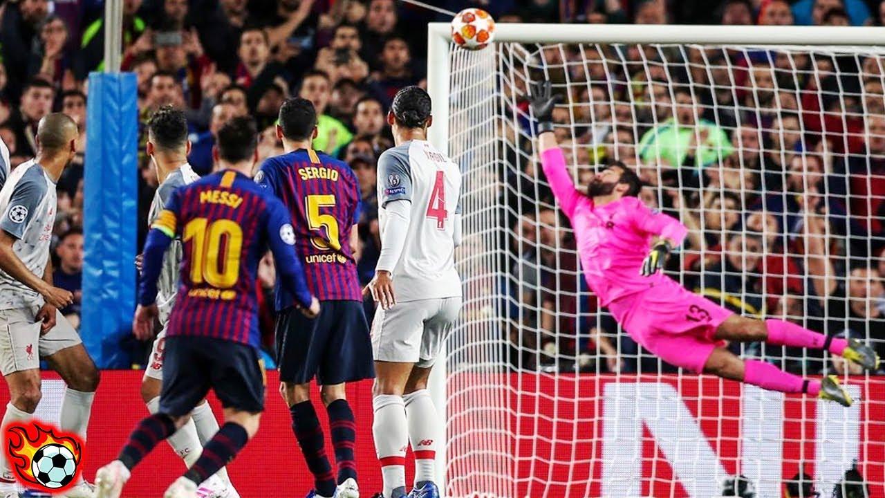 Los 20 MEJORES Goles De Lionel Messi En Toda Su Carrera!