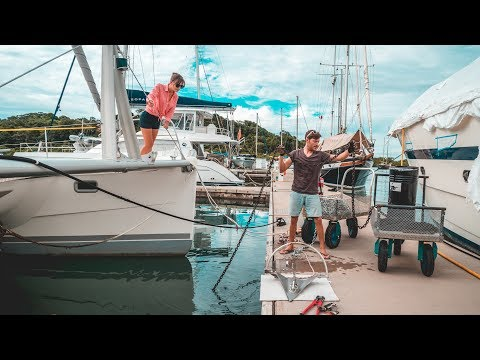 Old Rusty & Jumping The Gypsy - Replacing Our Anchor Chain (Sailing Curiosity)