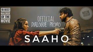 SAAHO Dialogue | Prabhas, Shraddha Kapoor, Neil Nitin Mukesh | Bhushan Kumar | Sujeeth | Vamsi
