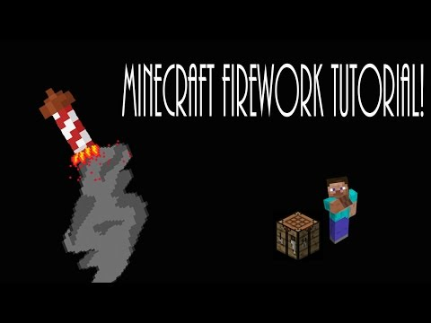 How to use firework stars in minecraft