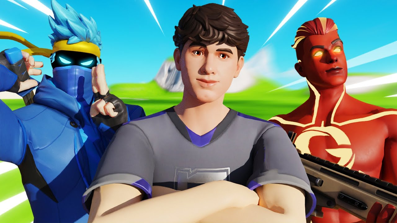 NINJA AND GREFG JOINED ME IN MY NEW LTM! (Bugha's Late Game)   Bugha