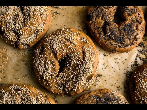 WHOLE WHEAT BAGELS   PAN 1 | BREAD RECIPES | EASY TO MAKE BREAD RECIPE