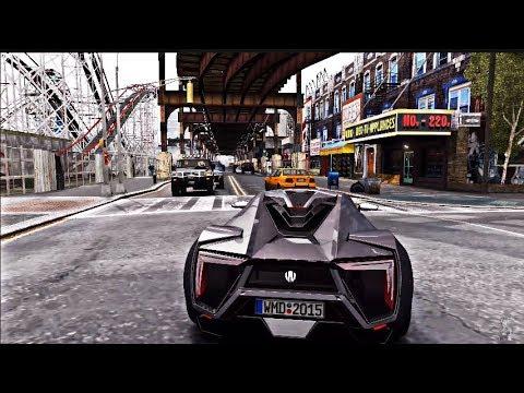 GTA 4 Com Gráficos Ultrarrealista (4k) nem GTA 6 será assim..