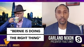 """Bernie is doing the right thing"" 