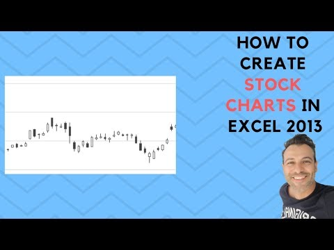 How to Create Stock Charts in Excel 2013