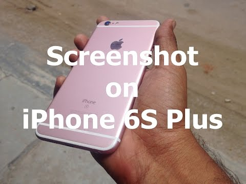 How to Take Screenshot on iPhone (iPhone 8, iPhone 7, 8 Plus)