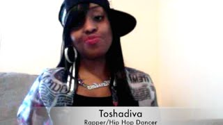 New FreeStyle to Ayo- Rapper- Toshadiva