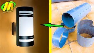 Peluang Usaha !! Lampu Hias Dinding Rumah Terbuat Dari Pipa Air