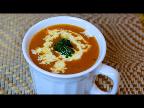 Roasted Tomato and Pepper Soup Recipe
