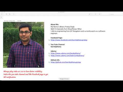 Create Feature file for Leads Creation Video-12