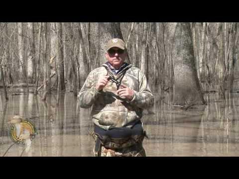 Kirk McCullough BLACK KM CUSTOM CUT KEYHOLE duck call. www.cutdownduckcalls.com
