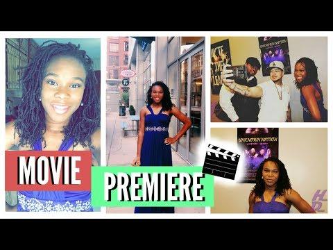MY MOVIE PREMIERE | Acting Vlog