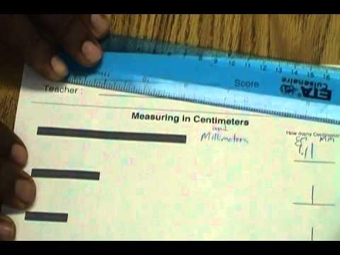 Unit 8 Measurement: Centimeters and Millimeters