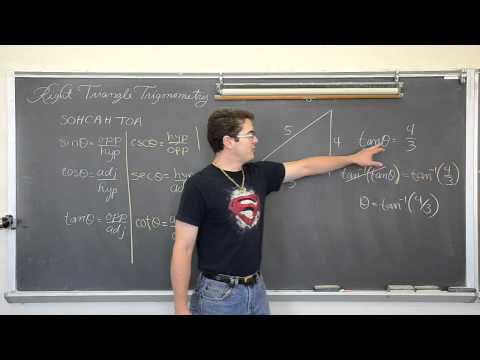 Right Triangle Trigonometry Part 2 Solving For Acute Angles