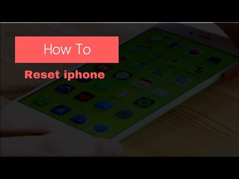 How To Reset Iphone to Factory Settings Without Itunes and Apple id