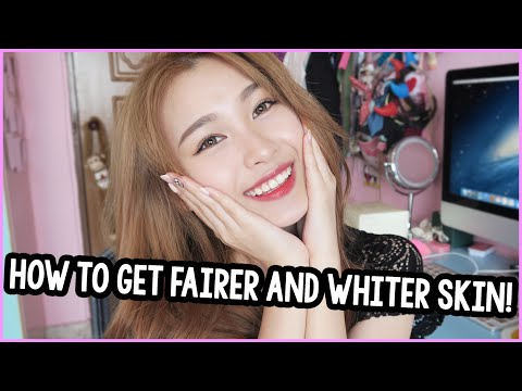 How To Get Fairer and Whiter Skin?