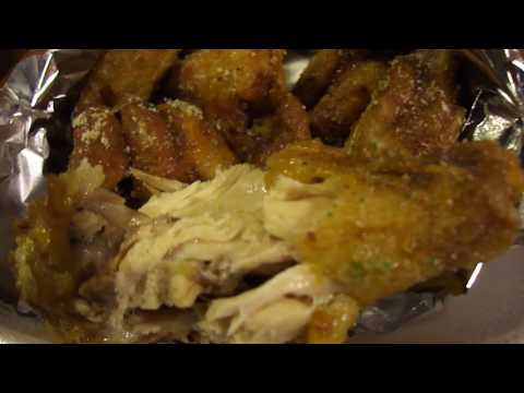 Ranch dry rub chicken wings