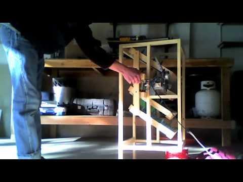 Homemade automatic egg turner for incubator