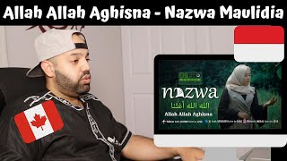Allah Allah Aghisna - Nazwa Maulidia - Reaction (BEST REACTION)