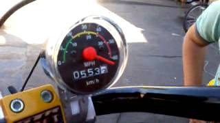Velocimetro De Bike Passando Dos 60 Km/h!