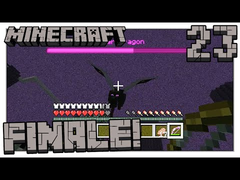 Minecraft Xbox 360 - Versus the Ender Dragon! - Part 23 - Finale (3-Player)