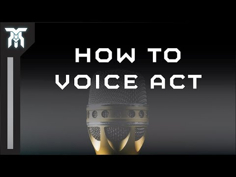 How To Start Voice Acting (Voice Over Tutorial)