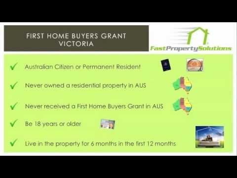 First Home Buyers Grant Victoria - Do I Qualify?