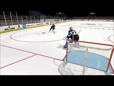 NHL 14 How to Play Goalie (Tips/Positioning)