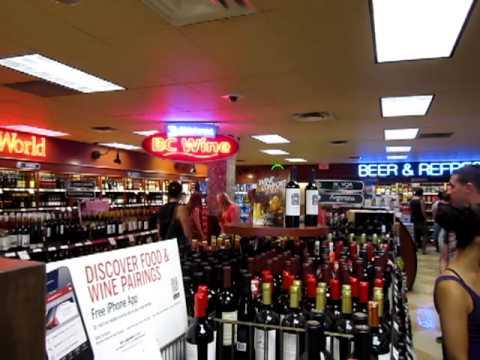 September 8 2012 Vancouver.B C Liquor Store Canada