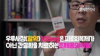 우루사정 100mg은 피로회복제가 아닌 간질환을 치료하는 조제용 의약품 - 우루사 핵심성분 UDCA 단독으로 피로회복 효과가 있을까요?