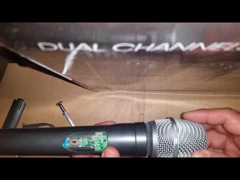 changing the gain on a UHF Pro mic