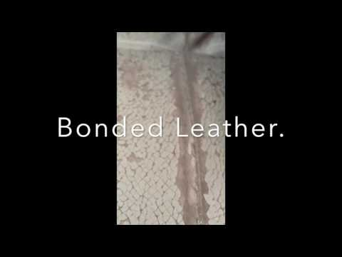 Why not to buy Bonded Leather furniture.