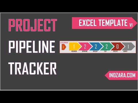 Project Pipeline Tracker - Free Excel Template v1 - Tour