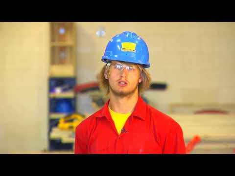 A Carpentry Student from Wind River Job Corps Talks About His Experiences