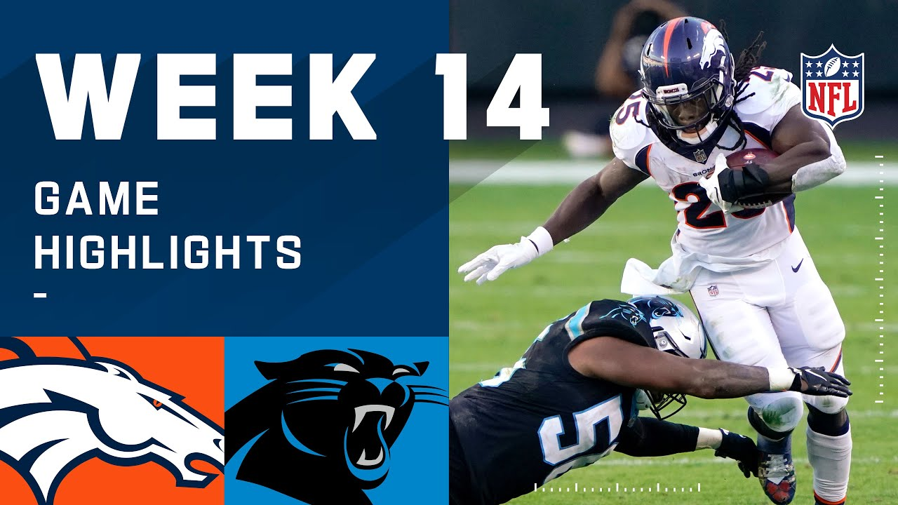 Broncos vs. Panthers Week 14 Highlights | NFL 2020