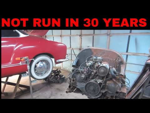 Will It RUN ?  VW engine 51 years old