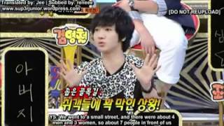 strong heart with super junior (shared their funny stories)