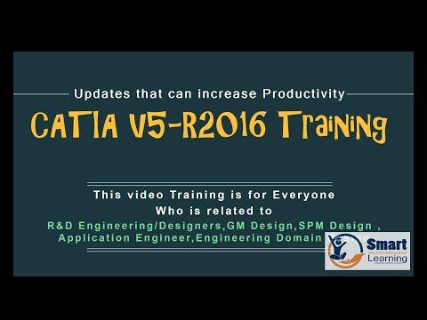 CATIA V5 6R2016 Video Training Tutorial