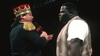 Mark Henry makes his first appearance in WWE: Raw, March 11, 1996