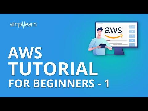 AWS Tutorial For Beginners - 1 | AWS Tutorial | AWS Training Videos | AWS Services | Simplilearn