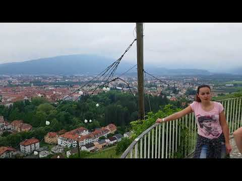 Maribor ( Slovenia 🇸🇮) piramida the city overlook