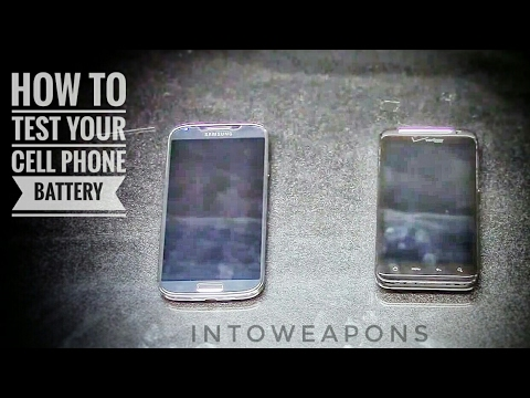How to Test a Cell Phone Battery:  Mobile Battery Condition