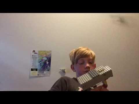 How to create a lego destiny taken king gun out of lego