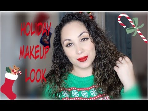 THE OH SO CLASSIC HOLIDAY MAKEUP LOOK 2018 - (PERFECT RED LIP!)
