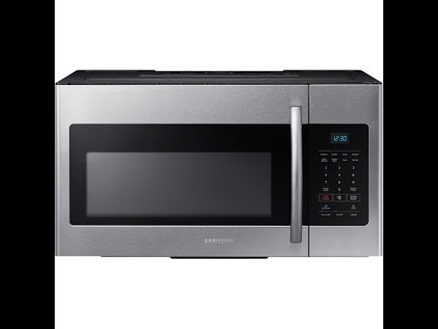 Samsung 1.6 cu. ft. Over-the-Range Microwave Oven ME16H702SES - Overview/Review