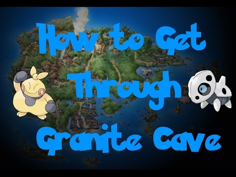 How To: Get Through Granite Cave (Pokemon Ruby/Sapphire/Emerald)