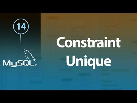 Learn MySQL In Arabic #14 - Constraint - Not Null, Unique