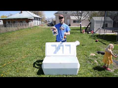 How to Build a Live Well (Cooler & Aerator)